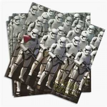 Star Wars The Force Awakens Servietten 2-lagig 33 cm x 33 cm