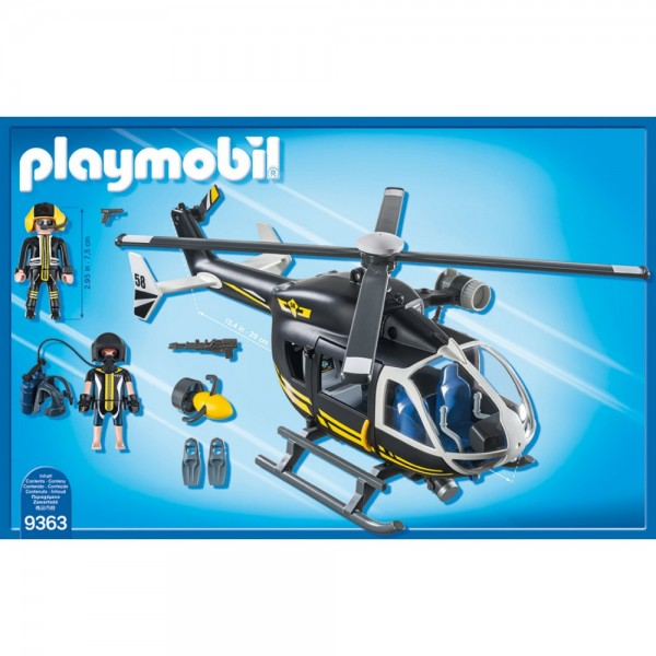 Playmobil SEK-Helikopter 9363