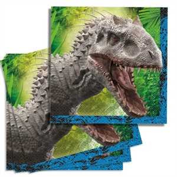 Jurassic World Servietten 33 cm x 33 cm