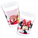 Minnie Maus Partybecher Plastik 200ml 8er