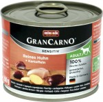 Animonda GranCarno Adult Sensitive Huhn + Kartoffeln 6x200g