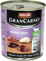 Animonda GranCarno Adult Sensitive Lamm pur 6x800g