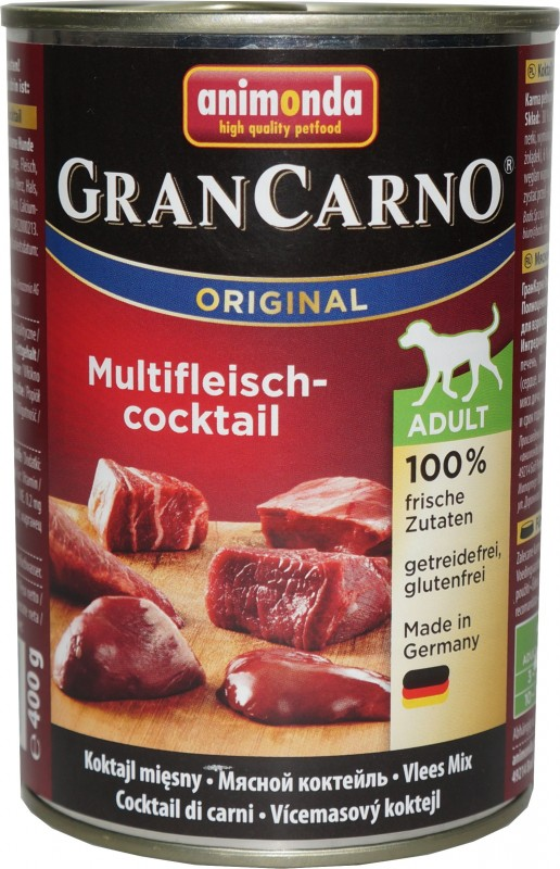 Animonda Dose GranCarno Adult Multi - Fleischcocktail 6x400g