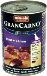 Animonda Dog Dose GranCarno Senior Rind & Lamm 6x400g