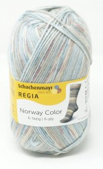Regia Sockenwolle Norway Color 6-fach Flam
