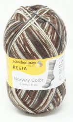 Regia Sockenwolle Norway Color 6-fach Aurland